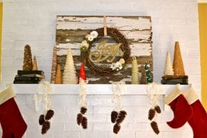6 DIY christmas tree ideas at Does this blog make me look fat?