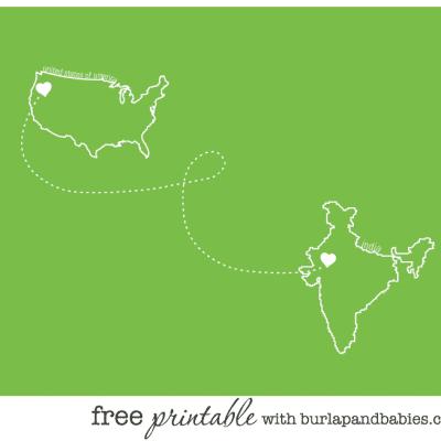 india love | free printable