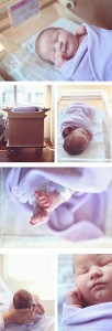 Hospital Newborn Session | Amber Hope Photography