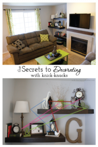 Learn how to decorate with knick-knacks
