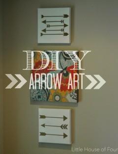 http://littlehouseoffour.blogspot.com/2014/08/diy-arrow-art_13.html