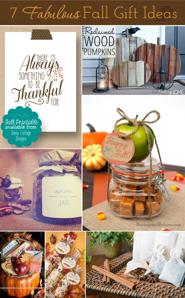 7 Fabulous Fall Gift Ideas