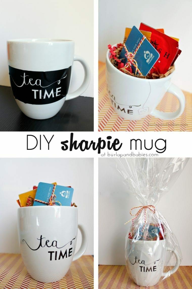 DIY sharpie mug