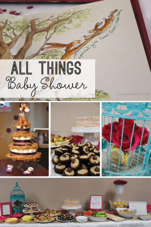 All Things Baby Shower at Burlapandbabies.com
