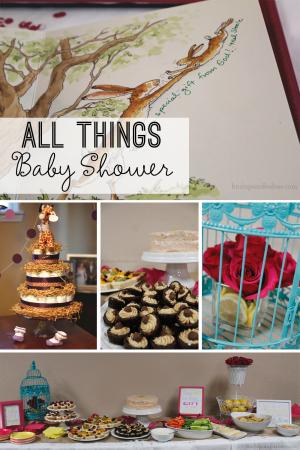 All Things Baby Shower at Burlapandbabies.com