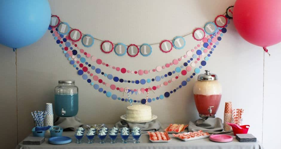 Our DIY Gender Reveal Party!