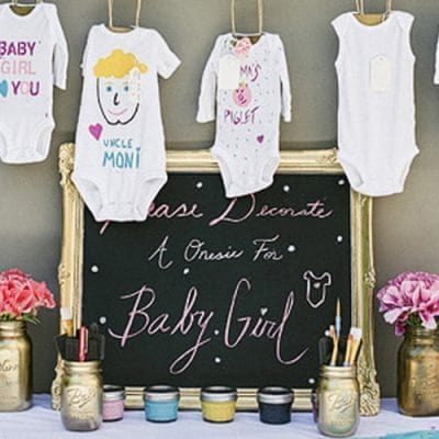 5 Creative Baby Shower Games
