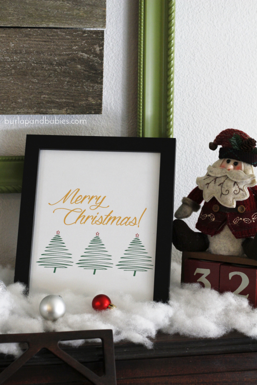 Christmas Home Tour with BurlapandBabies.com