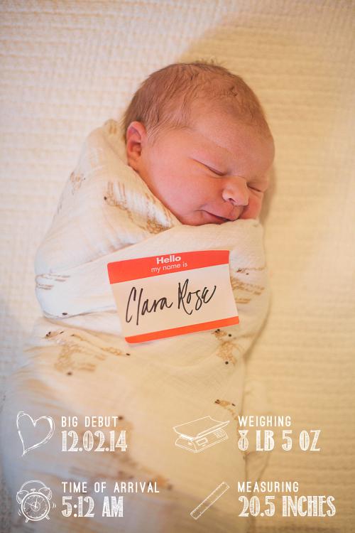 A natural, birth center birth story