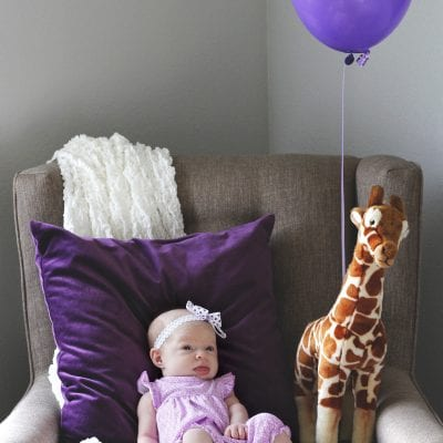 Baby one month update at Burlapandbabies.com