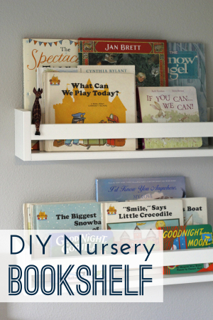 Pottery barn inspired quick and easy bookshelves for every kids room!