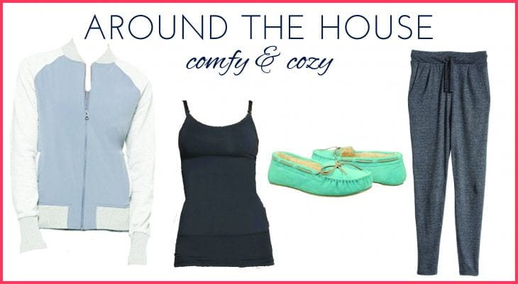 Postpartum fashion is all about keeping it comfy and easy. Check it out to see more postpartum fashion ideas!