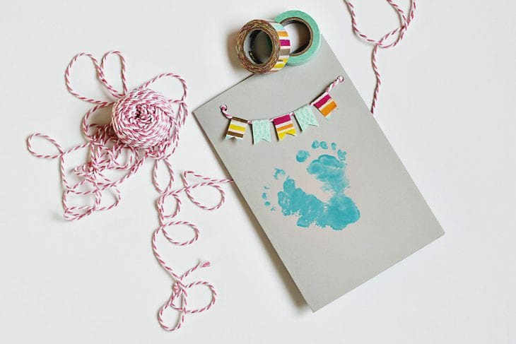 Every mom wants a personalized Mother's Day card. Create this one especially for mom's first mother's day!