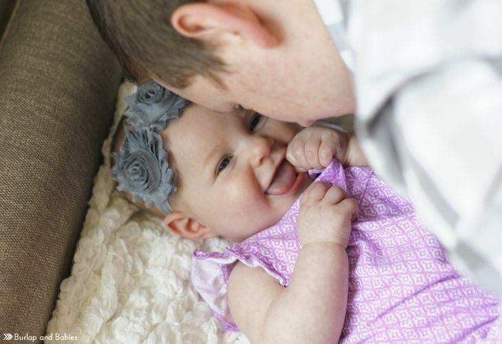 Baby monthly milestone updates