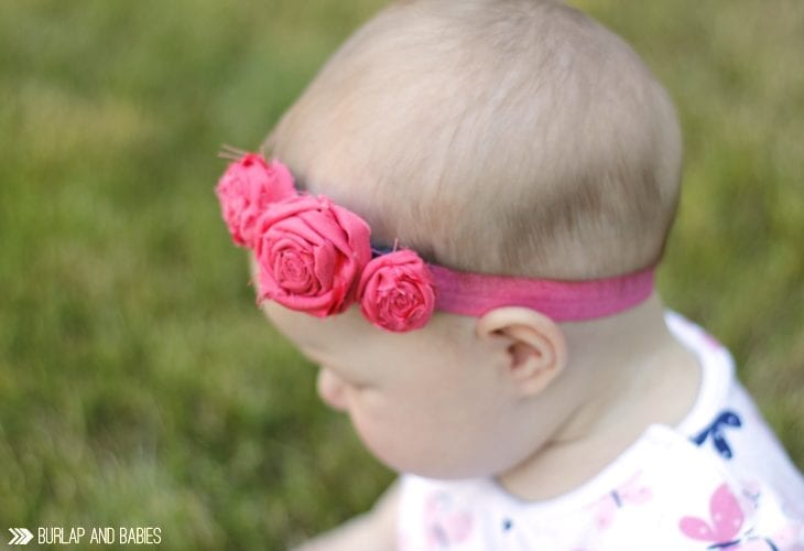 How to make fabric rosettes in just a few simple steps!