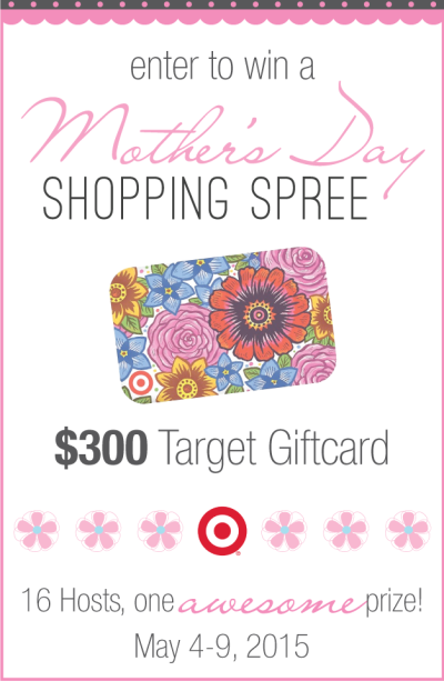 Mother's Day Giveaway! Because what mom doesn't deserve a shopping spree to Target!