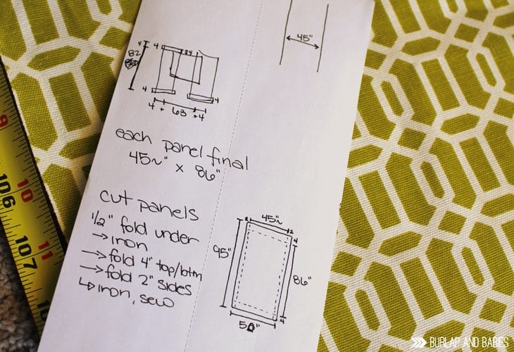 drafting sewing plan image.