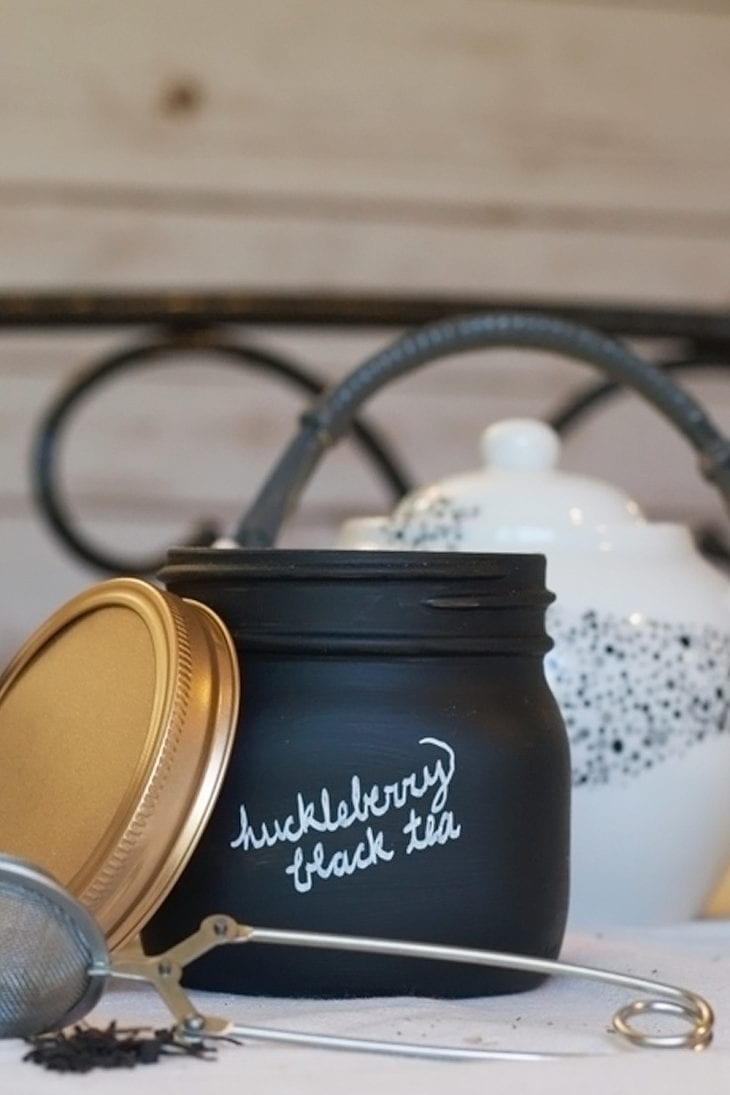 How to make a loose leaf tea jar   Create a DIY air-tight jar for your tea! Check out this easy tutorial!