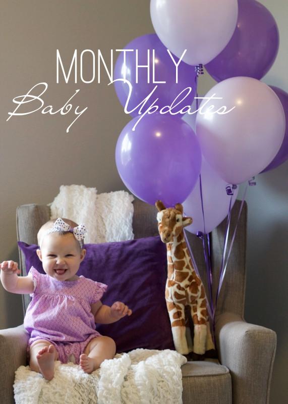 Baby Monthly Milestone Update