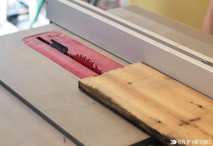 Wood being cut image.