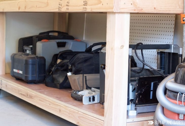 how to build a simple workbench