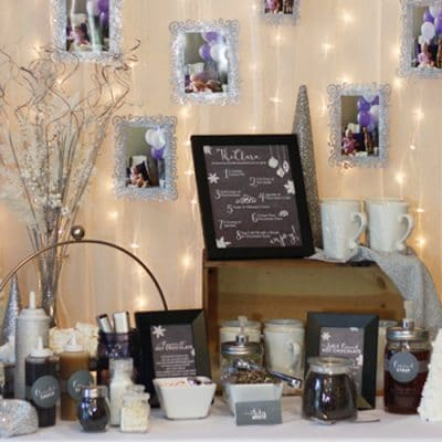 Hot Chocolate Bar Party