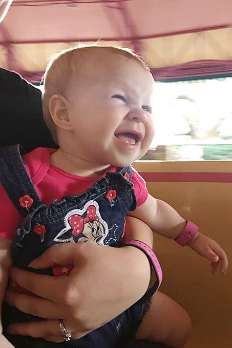 Smiling baby image.