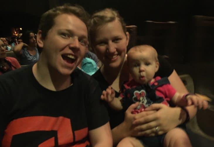Smiling family image.
