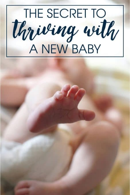Do you have a new baby? Maybe a baby on the way? Learn my secret to thriving with a new baby! Seriously, a lifesaver that everyone needs!
