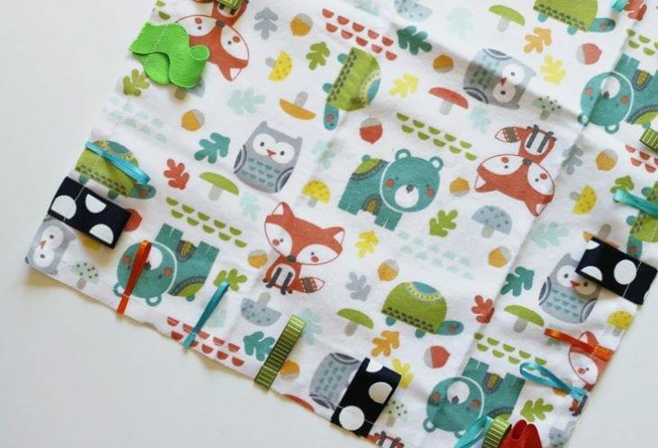 DIY tag blanket image.