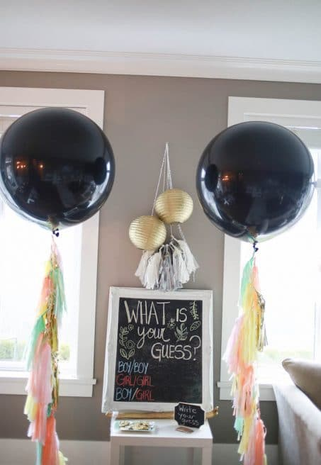 Boho-Inspired-Twins-Gender-Reveal-Part image.