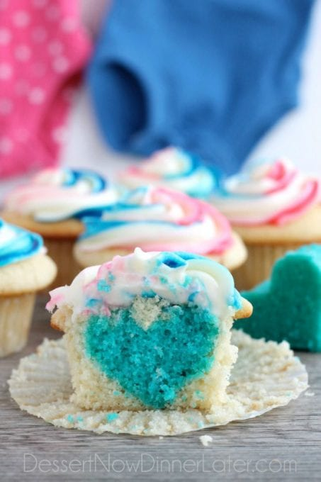 Image of Gender-Reveal-Cupcakes