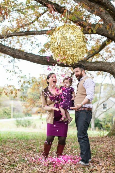 Giant String Pinata Gender Reveal