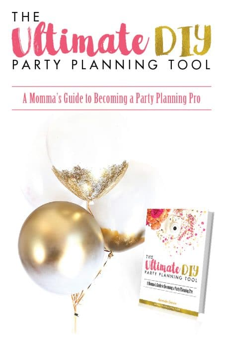 Do you feel overwhelmed with all the party ideas and don't know where to start? Get The Ultimate DIY Party Planning Tool and become a party planning pro!