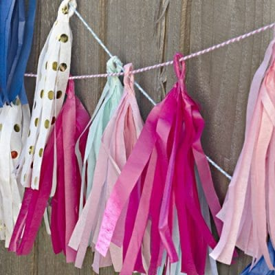 How to Make Tissue Paper Tassels