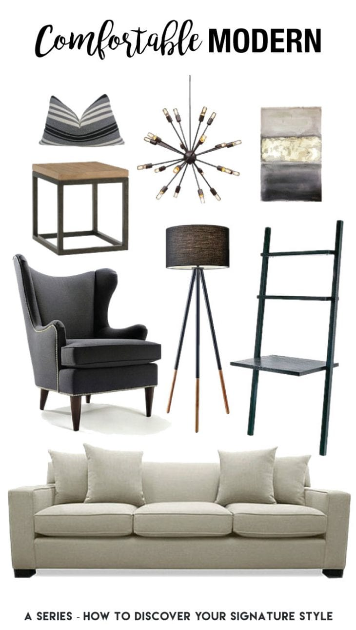 Comfortable Modern Home Decor Inspiration — Learn the secret to how we discovered our signature style...and you can too!