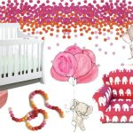 Colorful Nursery Inspiration for a Little Baby Girl