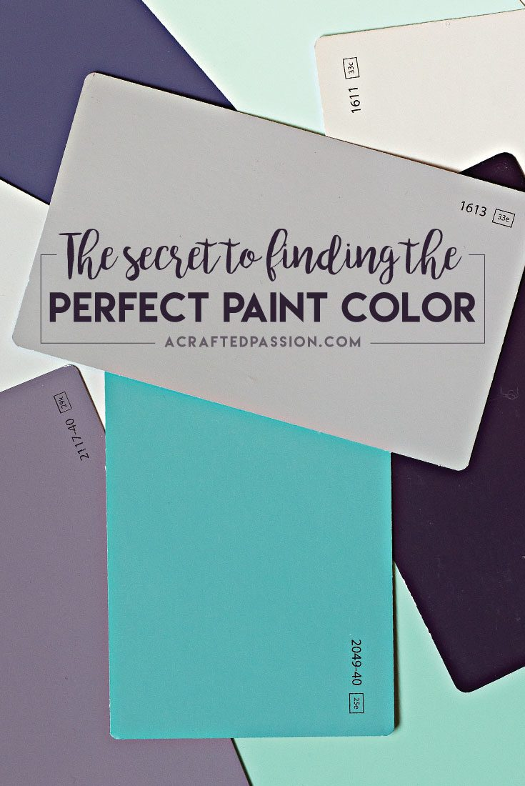 The secret to finding the PERFECT paint color — Learn from my mistakes and DO THIS the next time you need to find a new paint color!
