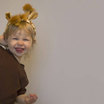 Easy No Sew Giraffe Costume