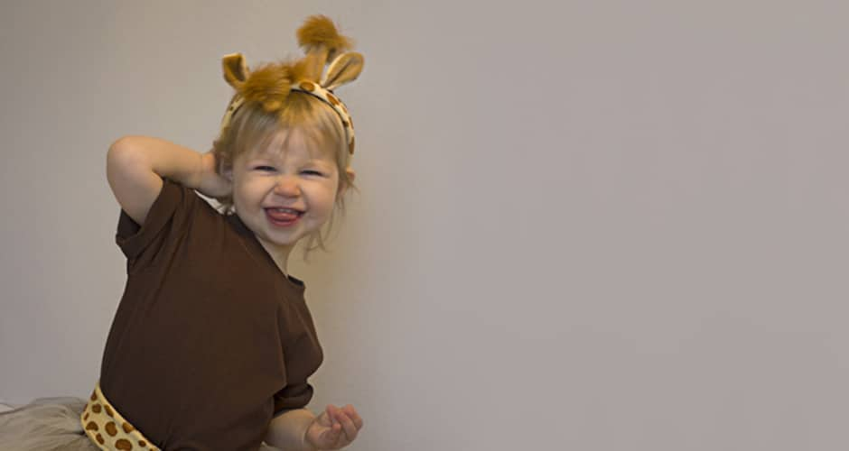 sc 1 st  A Crafted Passion & How to Make a Homemade Giraffe Costume