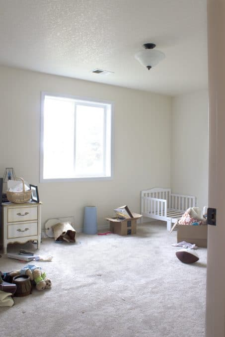 One Room Challenge Week One - Follow along as we transform our guest room into a toddler chic bedroom fit for a little girl!
