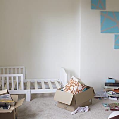 One Room Challenge Week One: Toddler Chic Bedroom
