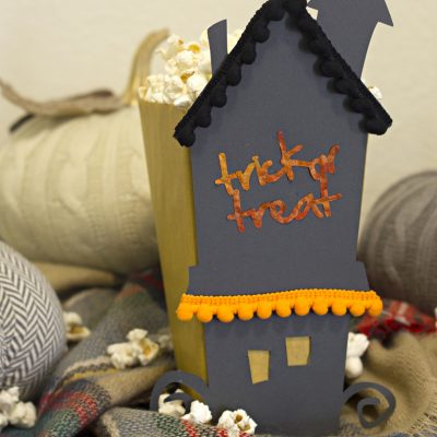 Trick or Treat Popcorn Box