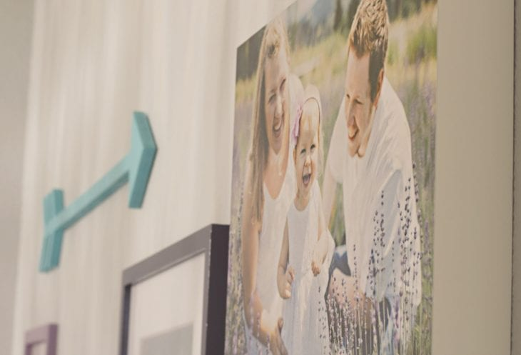 How to Plan a Gallery Wall — Family photo image.