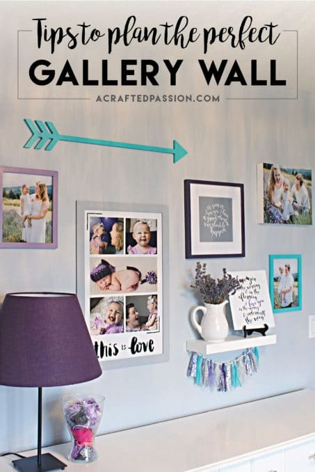 How to Plan a Gallery Wall — One Room Challenge Week 5 Update in this darling Toddler Chic Bedroom