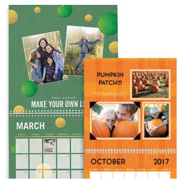 Wall calendar image.