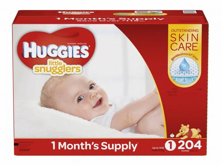 Huggies diapers image.