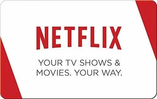 Netflix gift card image.