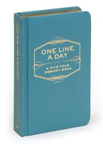One line a day book image.