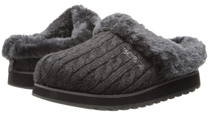 Gray slippers image.